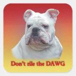 No rile el DAWG Colcomania Cuadrada