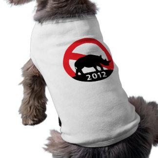 No RINO Pet T Shirt