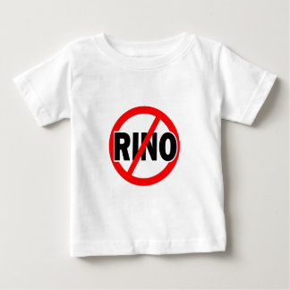 NO RINO - republican/conservative/neocon/liberty Baby T-Shirt