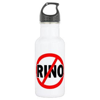NO RINO - republican/conservative/neocon/liberty Water Bottle
