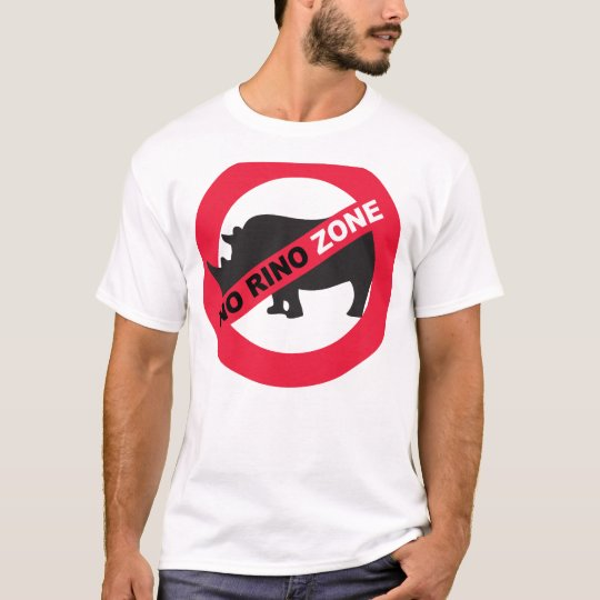No Rino Zone T-Shirt