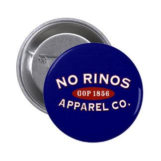 No RINOs Apparel Co. Button