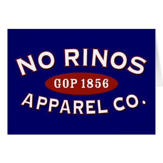 No RINOs Apparel Co. Card