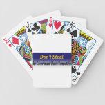 no robe baraja cartas de poker
