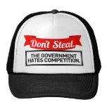 No robe. El gobierno odia la competencia Gorros Bordados
