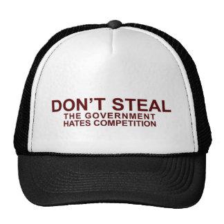 No robe el gorra del camionero