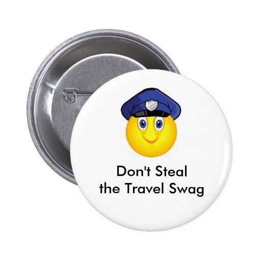 No robe el Pin de Geocaching del Swag del viaje