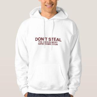 No robe la camiseta de Hodded