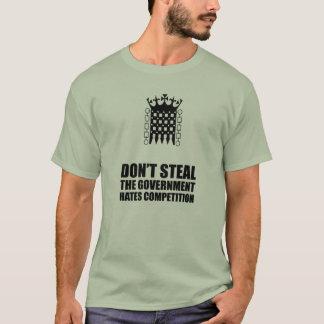 No robe la camiseta de las competencias de los