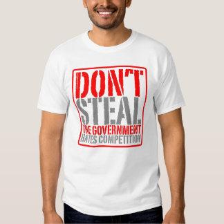 No robe la camiseta polera