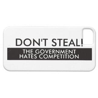 No robe la competencia de los odios del gobierno funda para iPhone SE/5/5s