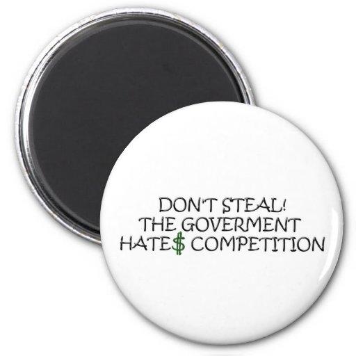No robe- la competencia de los odios del gobierno imanes