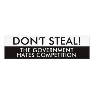No robe la competencia de los odios del gobierno arte fotografico