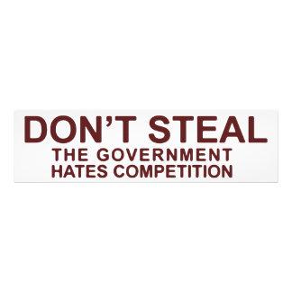 No robe la competencia de los odios del gobierno arte con fotos