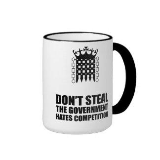 No robe la taza de las competencias de los odios