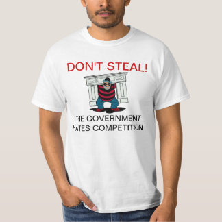 No robe las camisetas de la competencia de los