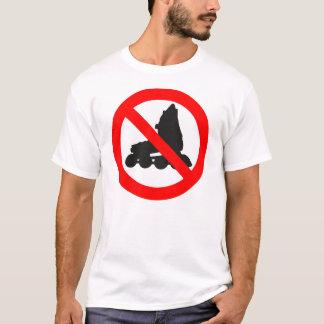 NO ROLLER SKATING ROAD SIGN T-Shirt