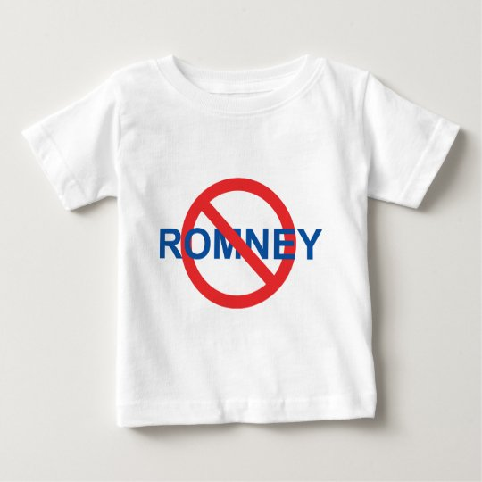 No Romney Baby T-Shirt
