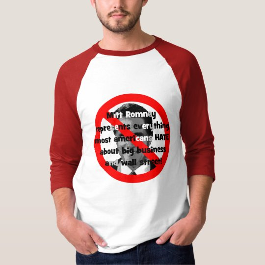 No Romney big business T-Shirt
