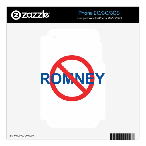 No Romney Decal For iPhone 3G
