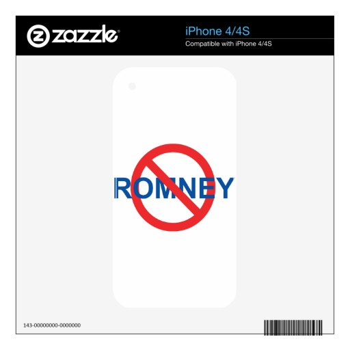 No Romney Skins For The iPhone 4S