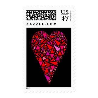 No rompa por favor mi corazón sellos postales