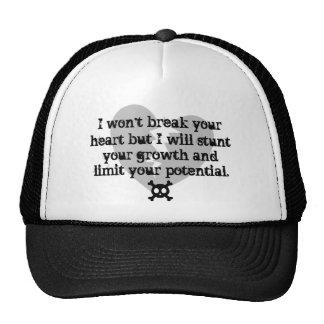 No romperé gorra del corazón