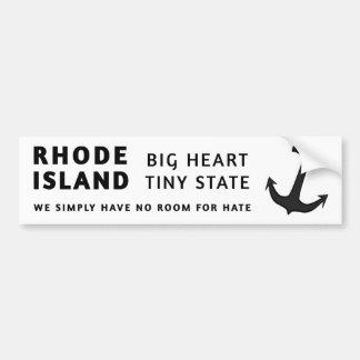 No Room for Hate Bumper Sticker