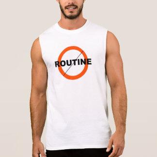 NO ROUTINE T SHIRT