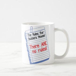 No Rules at Bubbie's House Coffee Mug