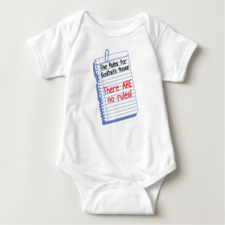 No Rules at Godfather's House Baby Bodysuit