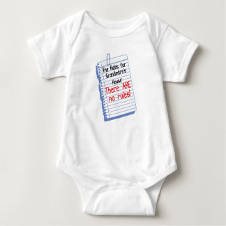 No Rules at Grandmere's House Baby Bodysuit