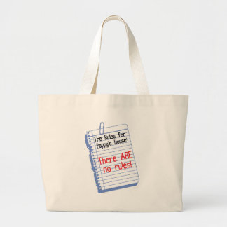 No Rules at Pappy's House Tote Bags