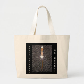 NO RULES!, KNIFEFIGHTING CANVAS BAG