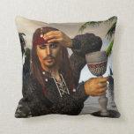 No Rum No Ship No hat American MoJo Pillow