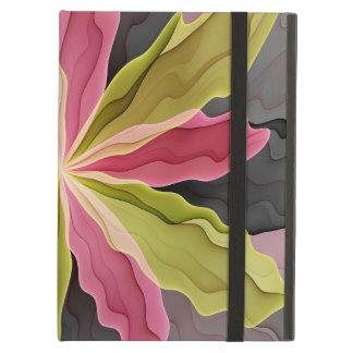 No Sadness, Joy, Fantasy Flower Fractal Art Case For iPad Air