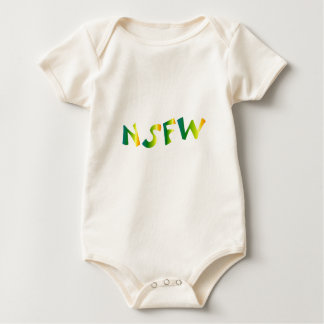 No Safe For Work (NSFW cool breeze) Baby Bodysuit