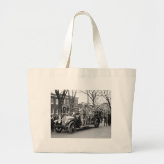 No Safety Badges Awarded, 1910s Large Tote Bag