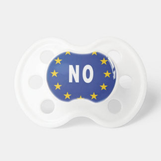 No:  Salga El Reino Unido de la UE Chupetes