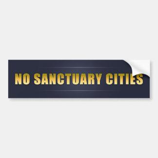 No Sanctuary Cities Bumper Sticker