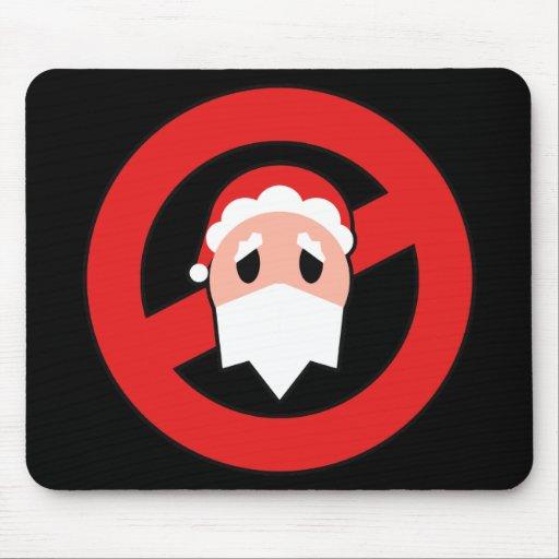 No Santa Mouse Pad