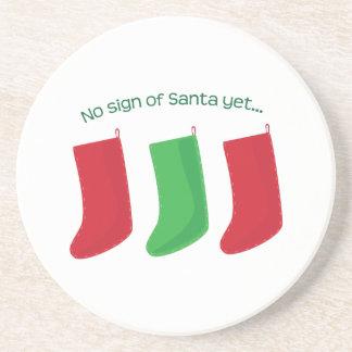 No Santa Yet Coasters