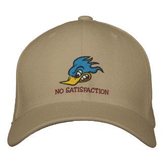NO SATISFACTION EMBROIDERED BASEBALL CAP