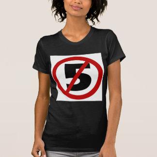 no sb 5 tee shirt