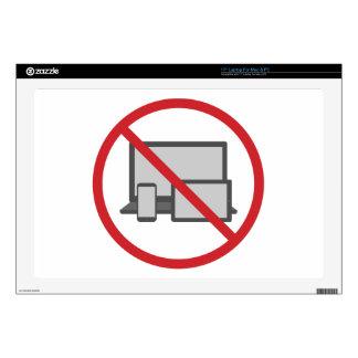 No Screen Laptop Skin