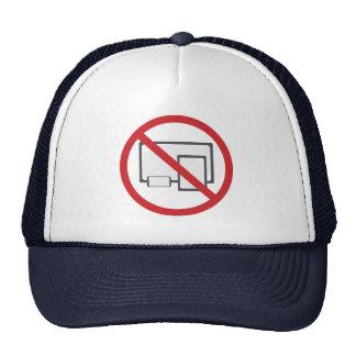 No Screens Trucker Hat.