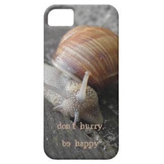no se apresure, sea feliz iPhone 5 funda