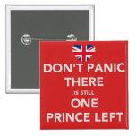 No se atierra - boda real - el príncipe pins