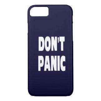 No se atierra el caso azul marino del iPhone 7 Funda iPhone 7
