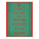 No se atierra el diseño divertido tarjeta postal